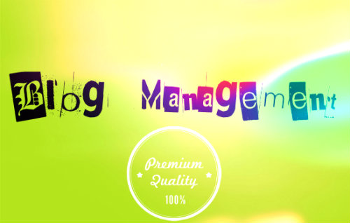 Blog management
