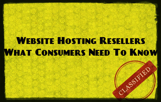 website hosting resellers