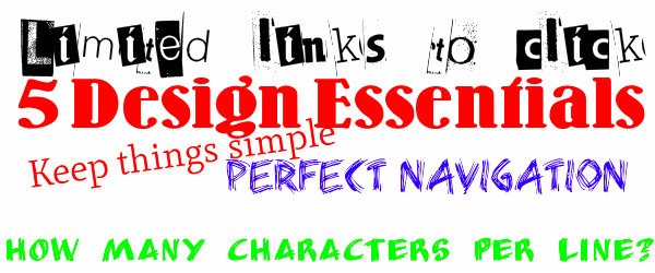 5 Design Essentials For Anyone Who Can't Afford A Web Designer