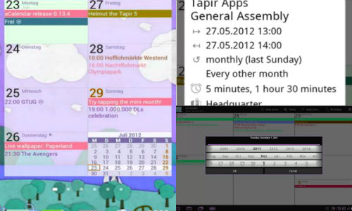 Top 10 Best Calendar Android Applications