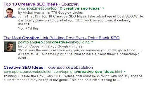 google authorship ebuzznet