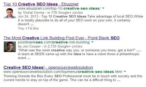 google authorship ebuzznet