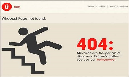 How to make a 404 page