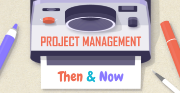 project management then now infographic.jpg 820×8058