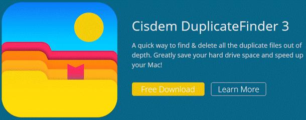 Cisdem DuplicateFinder 3 for Mac